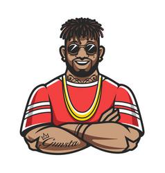 Rapper character vector