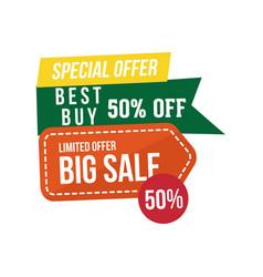 Sale discount logo vector