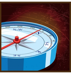 compass north vector image