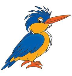 Kingfisher vector image vector image