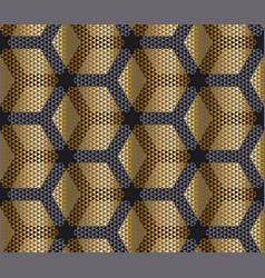 elegant modern creative geometry background gold vector image vector image