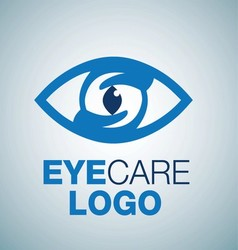 EYE CARE LOGO 2 vector image