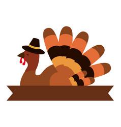 Happy thanksgiving cartoon vector