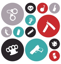 Icons for miscellaneous vector