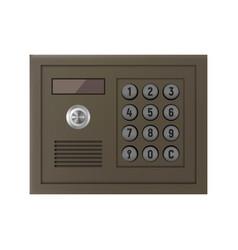 Intercom icon vector