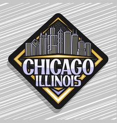 Logo for chicago vector