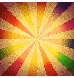 Vintage striped grunge background vector image