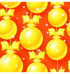 Bright Christmas seamless pattern vector