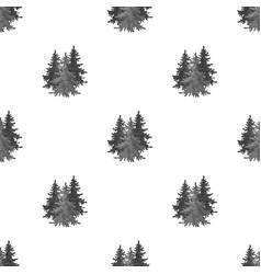 canadian spruce canada single icon in monochrome vector image
