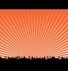 concert background design vector image