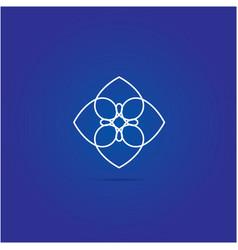 Heart logo design icon vector