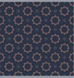 Monogram seamless pattern vector