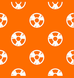 radiation sign pattern seamless vector image