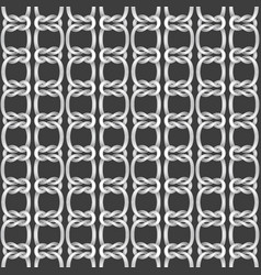 seamless background from ropes vector image