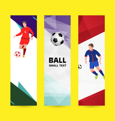 set abstract sport banner on a light bright vector image