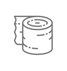 tattoo aftercare bandage accessory line icon vector image