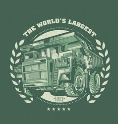 T-shirt label design vector