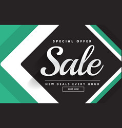 create sale banner design for your product vector image