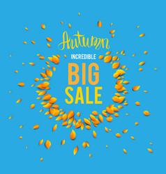 hello big sale vector image