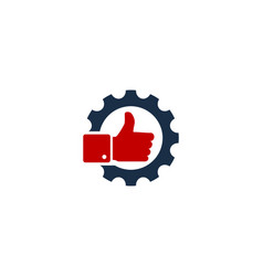 Best gear logo icon design vector