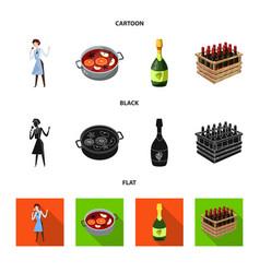 Farm and vineyard symbol vector