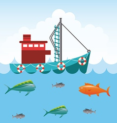 Fishing tournament vector