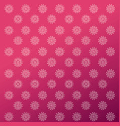 Flower shape mandala icon image vector
