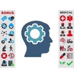 Human Mind Icon vector image