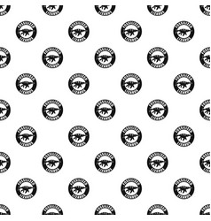 jurassic funny pattern seamless vector image