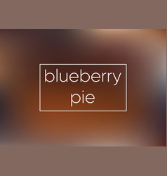 mesh blue blueberry pie smooth abstract colorful vector image