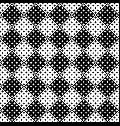 seamless star pattern background - monochrome vector image