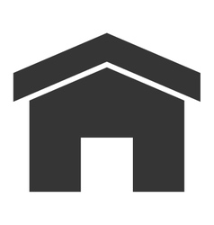 simple small house vector image
