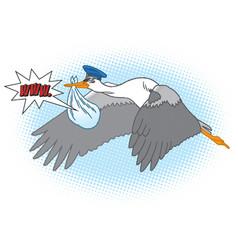 Stork-new website vector