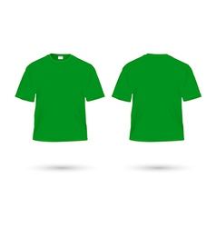 T shirt green vector