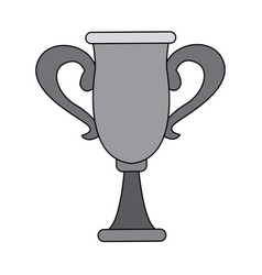 Trophy winner sport award champion vector