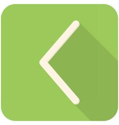 Arrow left vector image