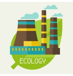 Ecology and environment concept vector