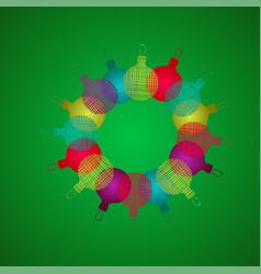 futuristic hexagon futuristic hexagon hud vector image
