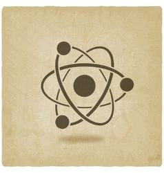 Molecule atom symbol vector