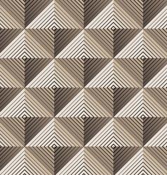 Pyramidal seamless pattern vector