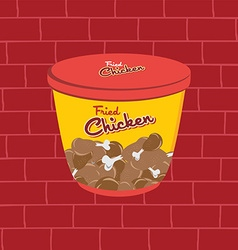 tasty snacks theme vector image