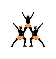 Cheerleading-Team-380x400 vector image