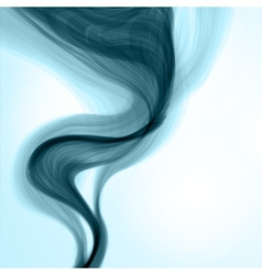 Blue smoke background vector image