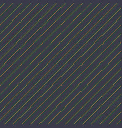 dark blue with green lines seamless pattern vector image
