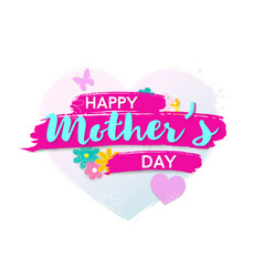 happy mother s day poster or banner vector image
