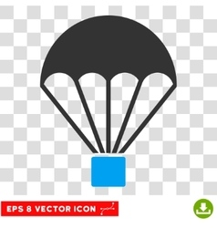 Parachute Eps Icon vector image