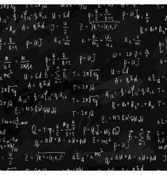 seamless formula background vector image