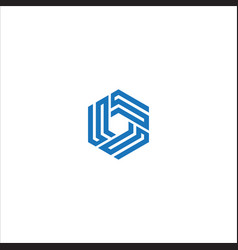 triple s logo vector image