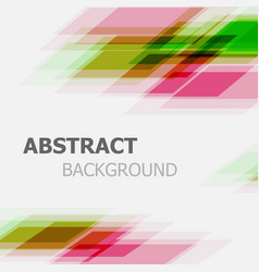 abstract green and pink business straight line vector image