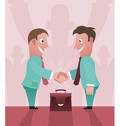 Partnership vector image vector image